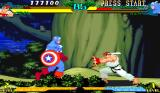 Marvel Super Heroes vs. Street Fighter Arcade Captain America