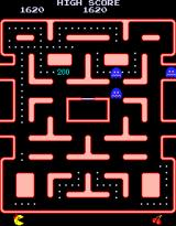 Ms. Pac-Man Arcade Got a ghost.