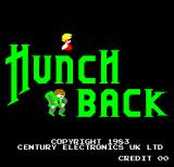 Hunchback Arcade Title Screen.