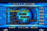 Spy Hunter Game Boy Advance Then choose your mission as either a normal agent or a special agent