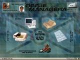 Speedway Manager 98 Windows Manager menu