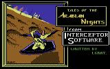 Tales of the Arabian Nights Commodore 64 Loading Screen.