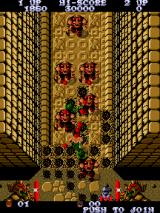 Ikari Warriors II: Victory Road Arcade Corridor with enemies