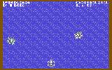 Scramble Spirits Commodore 64 Flying above the ocean