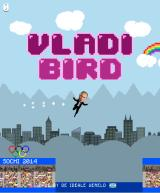 Vladi Bird Browser Title screen