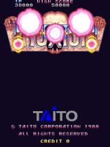 Truxton Arcade Title screen