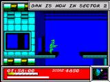 Dan Dare: Pilot of the Future ZX Spectrum Entering Sector 2