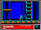 Dan Dare: Pilot of the Future ZX Spectrum Duel with rifleman