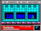 Dan Dare: Pilot of the Future ZX Spectrum Self-destruct counter started