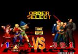 The King of Fighters '97 Arcade Order select