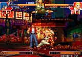 The King of Fighters '97 Arcade Death from above
