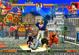 The King of Fighters '97 Arcade Hit the ground!