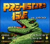 Prehistoric Isle in 1930 Arcade Title screen