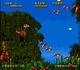 Prehistoric Isle in 1930 Arcade He is bigger than plane