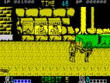 Double Dragon ZX Spectrum High kick