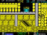 Double Dragon ZX Spectrum Avoiding wooden obstacles