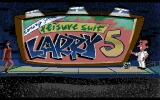 Leisure Suit Larry 5: Passionate Patti Does a Little Undercover Work Amiga Title screen
