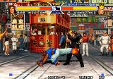 Real Bout Fatal Fury Special Arcade Kick in balls