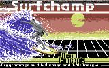 Surfchamp Commodore 64 Loading Screen.
