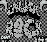 Chuck Rock Game Boy Title