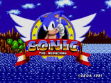 Sonic the Hedgehog Windows Title screen
