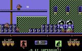 Superkid Commodore 64 Let's rescue the civilians.