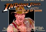 Indiana Jones and the Temple of Doom Arcade Title screen