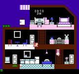 Apple Town Monogatari: Little Computer People NES Dressed for bed. She wears a bow to bed?