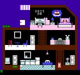 Apple Town Monogatari: Little Computer People NES In bed. Dreaming about cake!