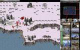 Command & Conquer: Red Alert - The Aftermath Windows production bar shows enough soviet power to be affraid