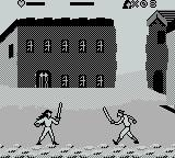 Cutthroat Island Game Boy A lanky pirate