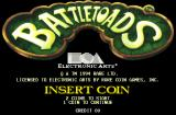 Battletoads Arcade Title screen