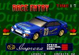 Neo Drift Out: New Technology Arcade Blue car