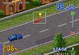 Neo Drift Out: New Technology Arcade turn left