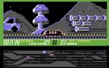 Suicide Express Commodore 64 Zooming on the track.
