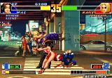 The King of Fighters '98: The Slugfest Arcade Throw Blue Mary