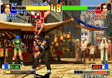 The King of Fighters '98: The Slugfest Arcade JUmp over Kyo