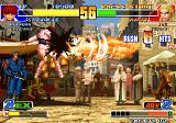 The King of Fighters '98: The Slugfest Arcade Burning Tornado