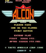 A.L.C.O.N. Arcade Title Screen (US Version)