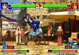 The King of Fighters '98: The Slugfest Arcade Foot in ass