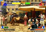 The King of Fighters '98: The Slugfest Arcade Choi in air