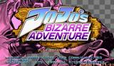 JoJo's Bizarre Adventure Arcade Title screen