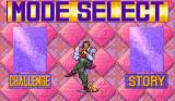 JoJo's Bizarre Adventure Arcade Mode select
