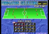 Goal! Goal! Goal! Arcade Formation selection