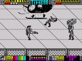Double Dragon II: The Revenge ZX Spectrum Standard kick