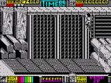 Double Dragon II: The Revenge ZX Spectrum Climbing to the higher level