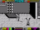 Double Dragon II: The Revenge ZX Spectrum Level 3 - head standing