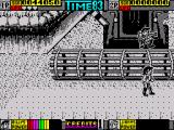 Double Dragon II: The Revenge ZX Spectrum Attack of agricultural machinery