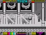 Double Dragon II: The Revenge ZX Spectrum Avoiding the moving spear