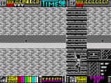 Double Dragon II: The Revenge ZX Spectrum Descent down the ladder